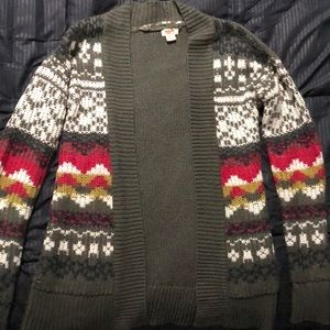 Mossimo XS cozy sweater/cardigan